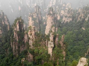 张家界大力发展森林旅游