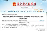 关于印发咸宁市加快创建国土资源节约集约示范市行动实施方案(2016-2020年)的通知