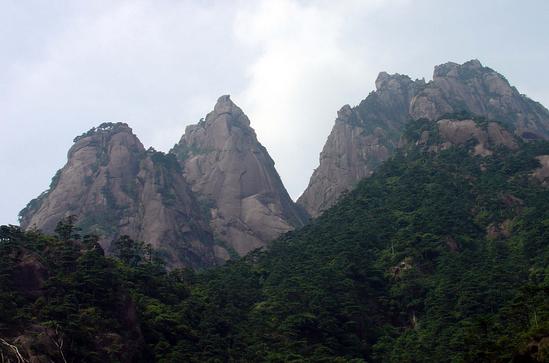 安徽国家地质公园的主要景观有哪些呢?