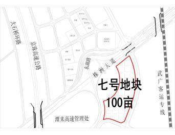 株洲市天元区汽车博览园100亩商业用地