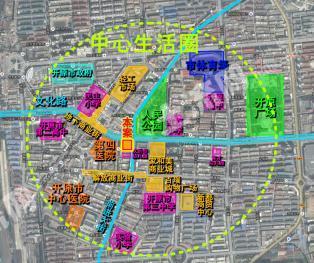 辽宁省开原市中心人民公园西侧地块