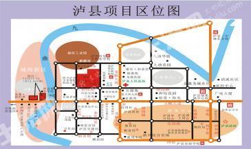 泸州泸县14亩滨河商业用地出让