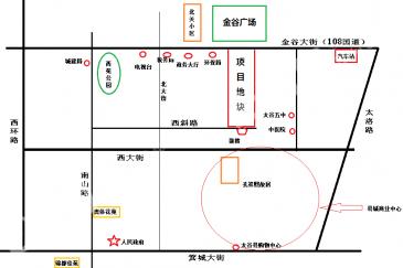 山西太谷县金谷南广场项目投资收益权