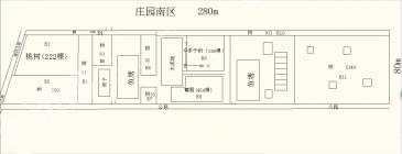 上海奉贤奉城镇80亩庄园出租
