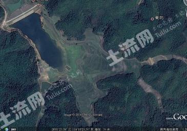 江西抚州临川区120亩水库出租  、良田100亩