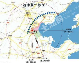 沧州青县 4000亩 工业用地 转让