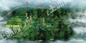 浙江省安吉县750亩旅游景区转让