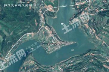 升钟湖畔国道大桥旁300亩农场转让