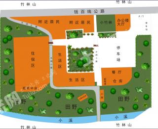 浙江德清莫干山下6亩工业用地出租旅游开发